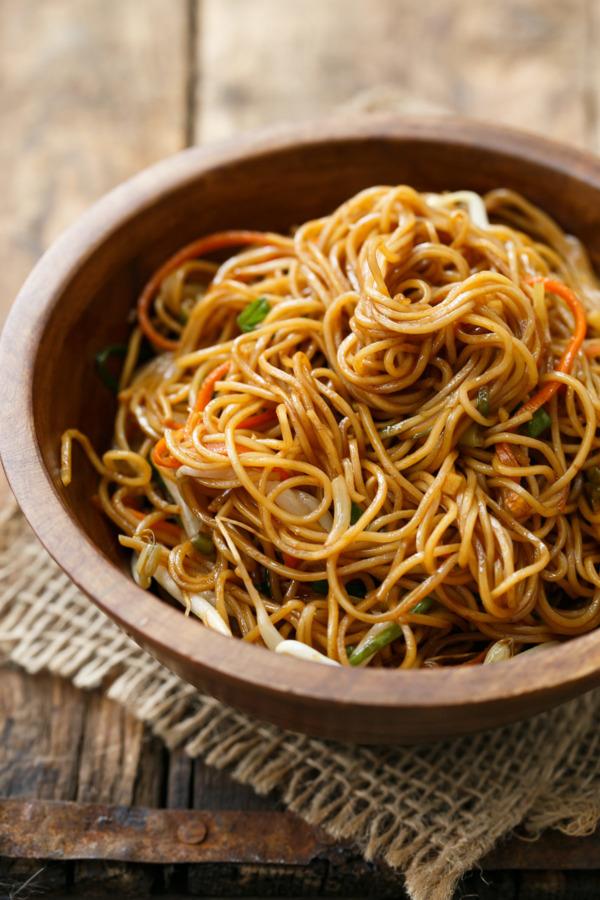 Soy Sauce Noodle Stir Fry Recipe