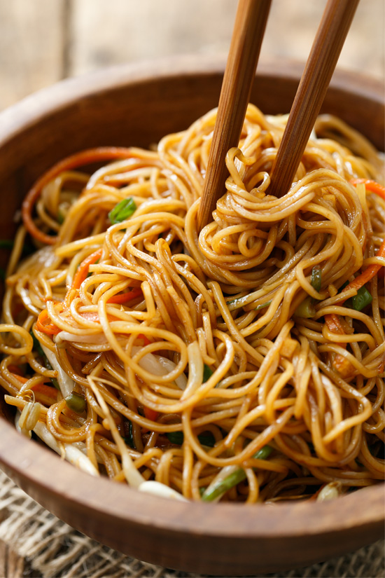 Stir-Fried Soy Sauce Noodles