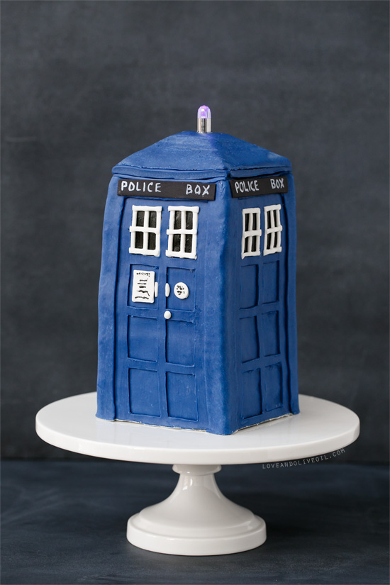 Fantastic Tardis Birthday Cake Love And Olive Oil Personalised Birthday Cards Beptaeletsinfo