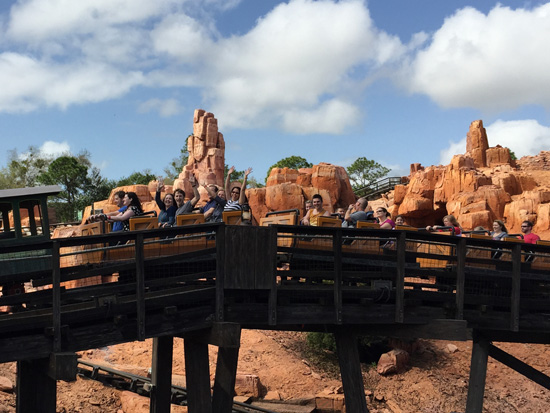 Thunder Mountain Roller Coaster
