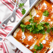 Chicken & Goat Cheese Enchiladas