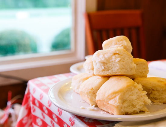 Famous Biscuits at the Loveless Cafe, Nashville TN