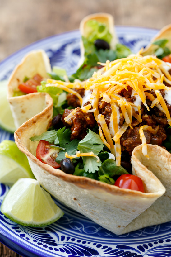America Test Kitchen Taco Salad