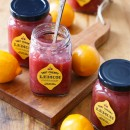 Tart Cherry & Meyer Lemon Marmalade (with free printable jar labels!)
