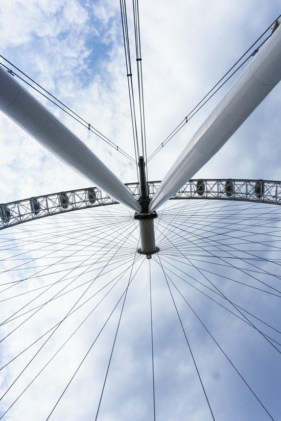 The Eye from Below, London