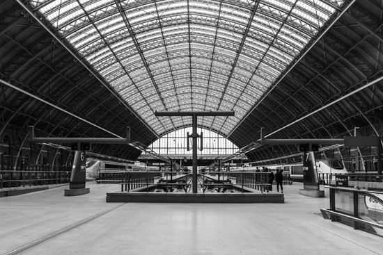 St. Pancras Station, London England