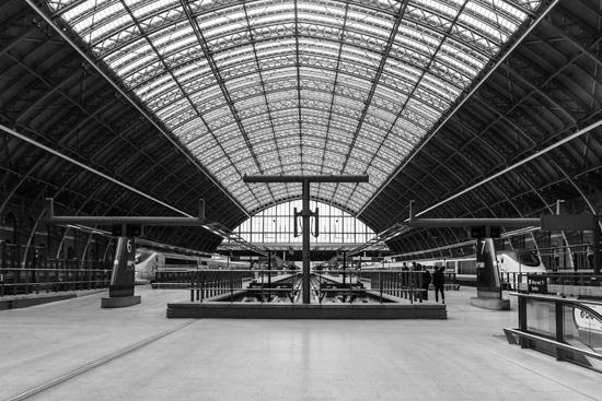 St. Pancras Station, London England
