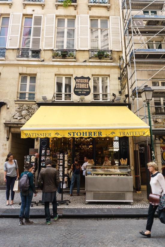 Stoher Pastry Shop, Rue Montorgrueil, Paris