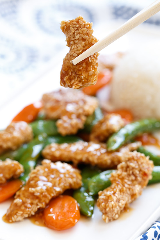 Sweet Chili Sesame Chicken