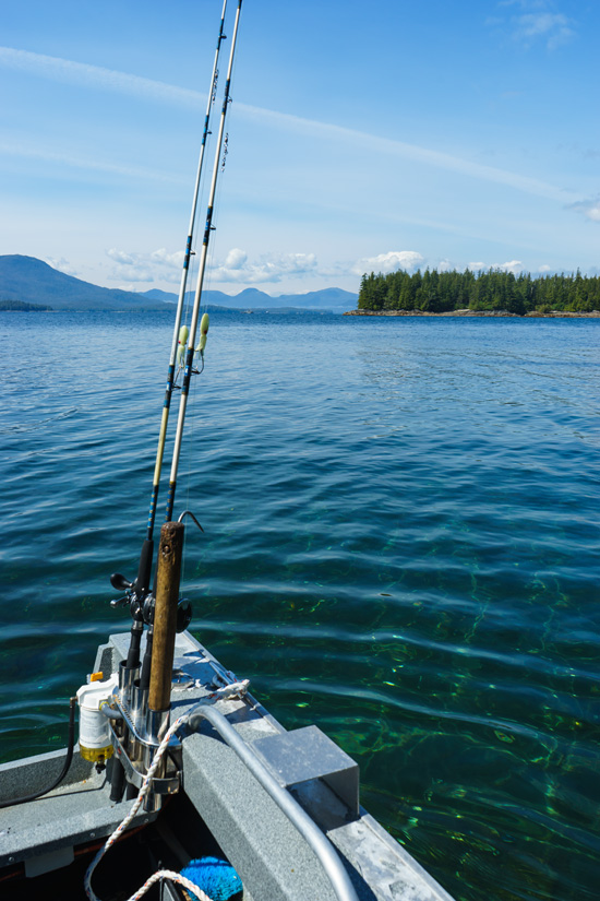 Fishing in Ketchikan, Alaska