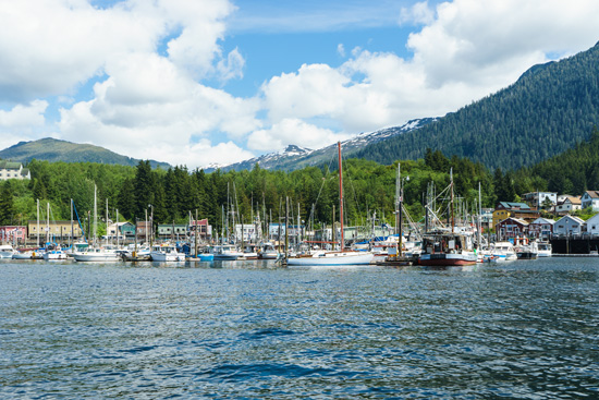 Boats in the Harbor, Ketchikan, Alaska