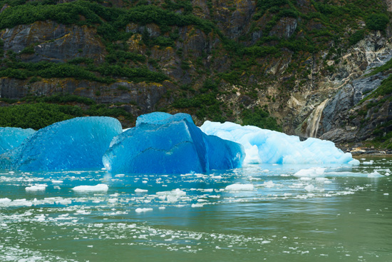 Crystal Blue Icebergs, Tracy Arm Fjord, Alaska