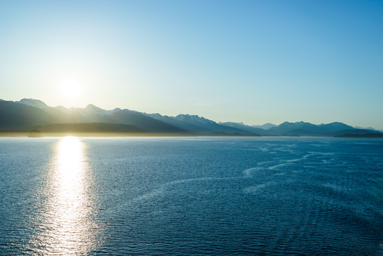 Scenic Alaska aboard the Ruby Princess