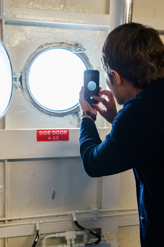 Behind the Scenes on the Ruby Princess