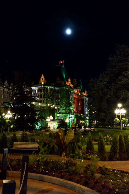 The Empress Hotel, Victoria, British Columbia