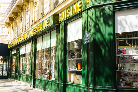 E.Dehillerin cookware shop, Paris France