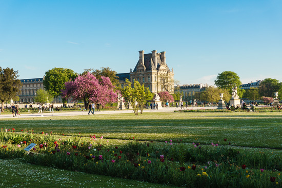 Tuileries Garden, Paris France