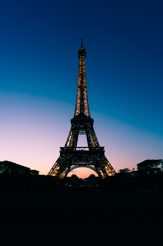Tour de Eiffel at Sunset