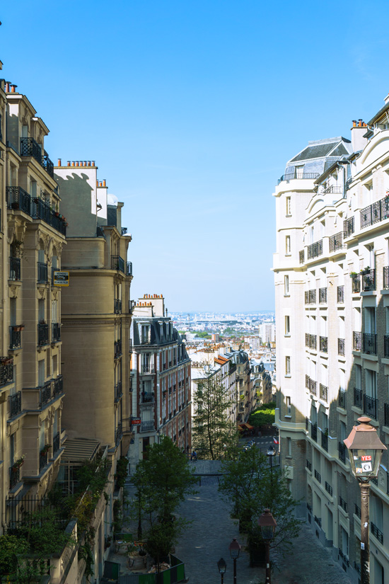 View from Montmarte Neighborhood, Paris