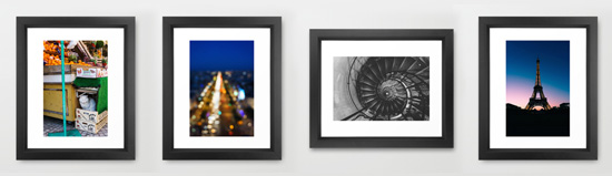Paris Photo prints for sale in my Society6 shop!