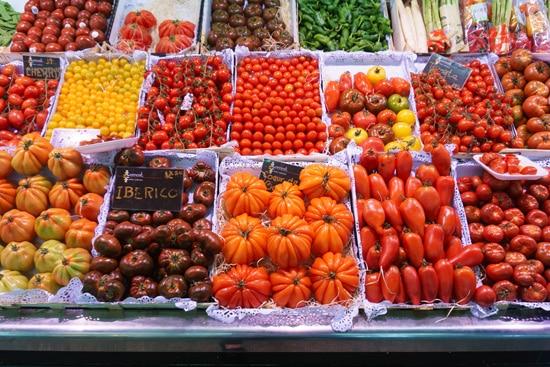 Mercado de Santa Caterina, Barcelona Spain