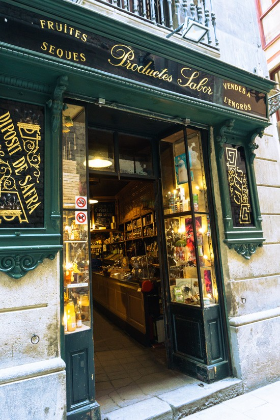 Casa Gispert gourmet food store & roasted nuts, Barcelona Spain