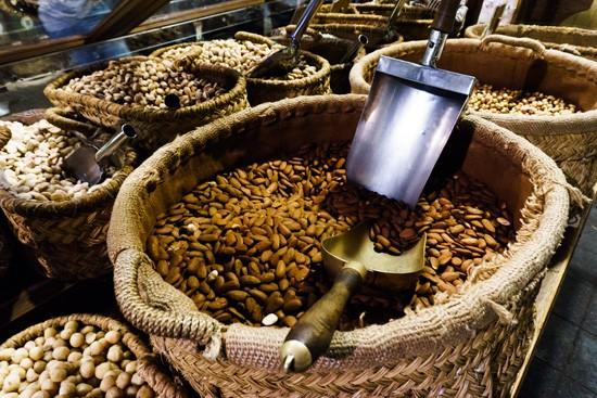 Casa Gispert gourmet food store & roasted nuts, Barcelona Spain
