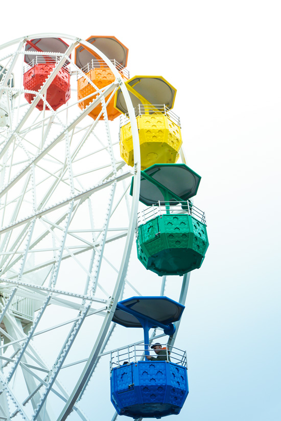 Tibidabo amusement park, Barcelona Spain