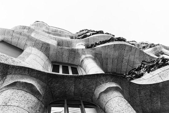 Casa Batllo by Gaudi, Barcelona Spain