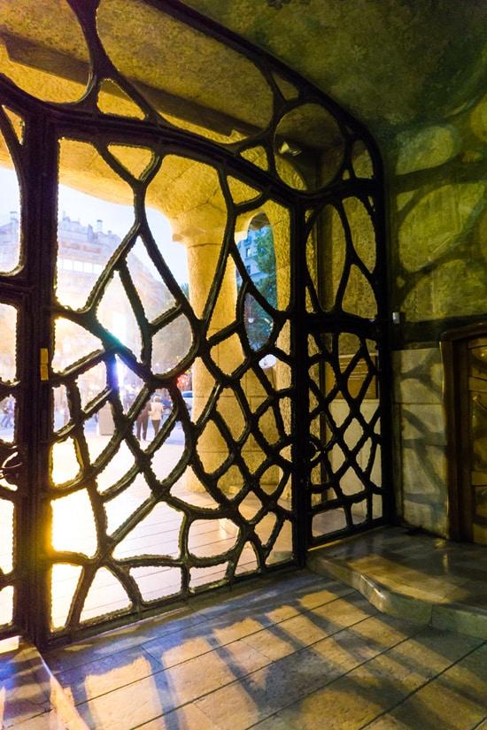 Casa Mila by Gaudi, Barcelona Spain
