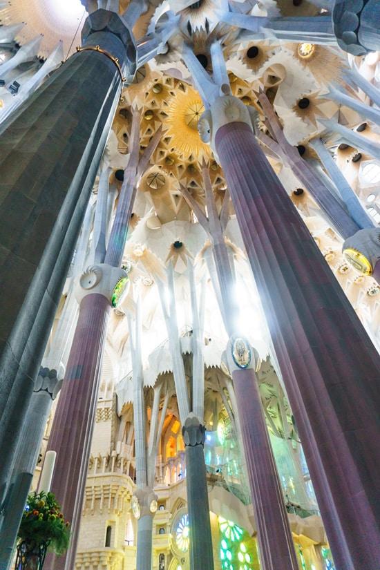 Sagrada Família church, Barcelona, Spain