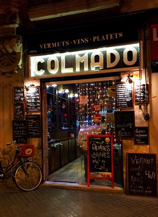 Colmado bar and tapas, Barcelona, Spain