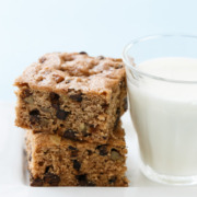 Chocolate Chip Banana Bread Blondies