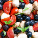 Blueberry Caprese Salad 4th of July Recipe