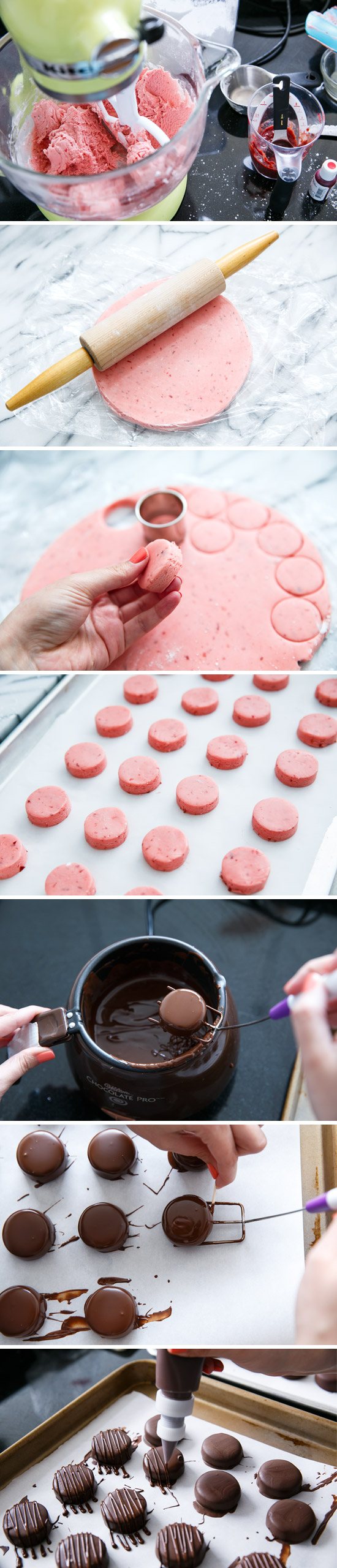 How to make fondant cream candies