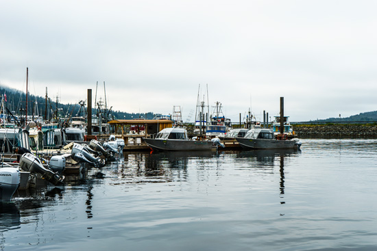 Boats in Ketchikan, Alaska