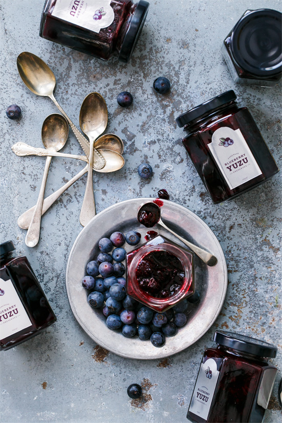 Blueberry Yuzu Citrus Preserves