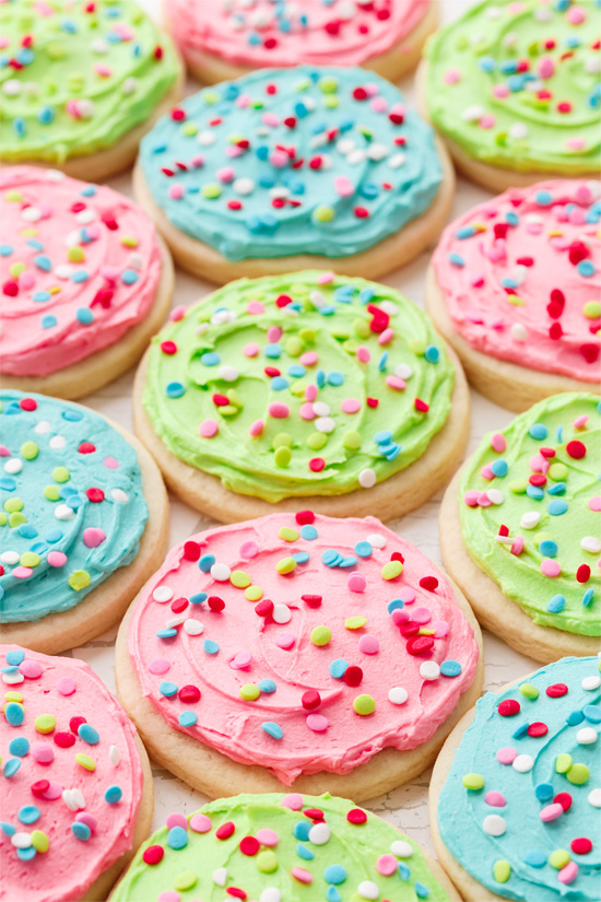 Lofthouse-Style Soft Frosted Sugar Cookies