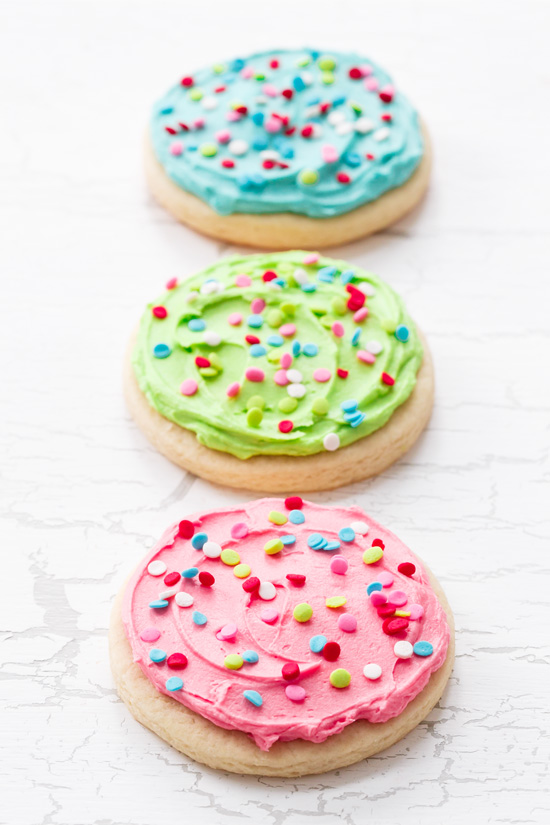 Lofthouse-Style Pink Frosted Sugar Cookies