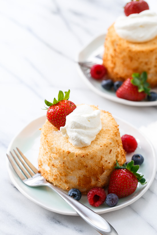 Baked Angel Food Cake Recipe