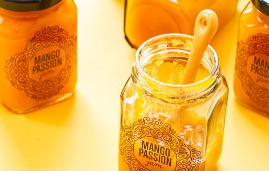 Mango Passion Jam plus FREE printable canning labels