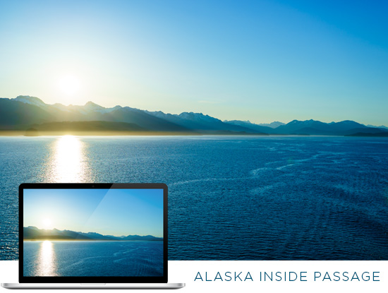 FREE Alaska Wallpaper Download: Scenic Alaska Inside Passage
