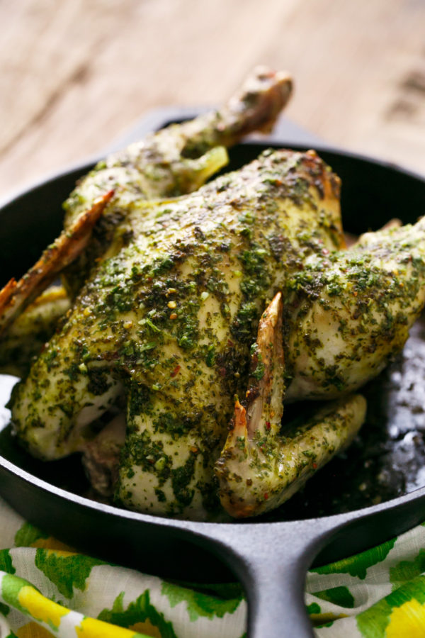Chimichurri Roasted Chicken