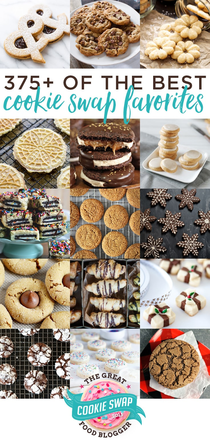 375+ of the best holiday cookie recipes from the Great Food Blogger Cookie Swap