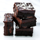 Gingerbread Brownies with Molasses and Spices