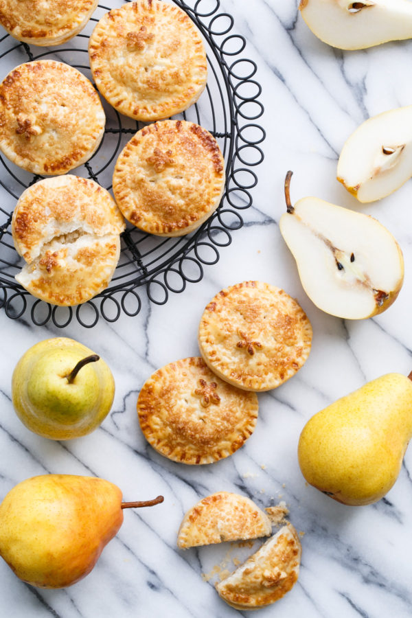 Marzipan Pear Hand Pies for National Pear Month