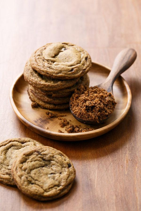 Chewy Muscovado Sugar Cookies