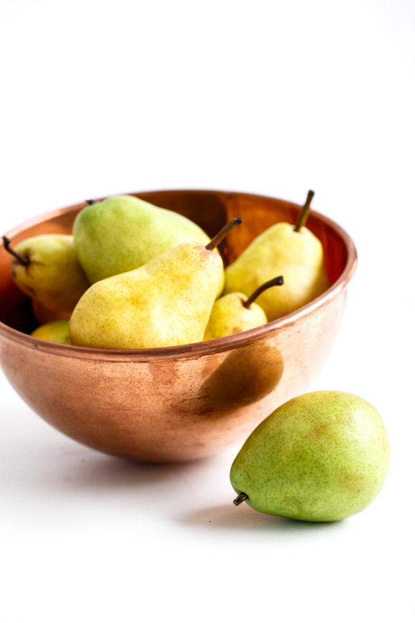 Anjou and Bartett Pears