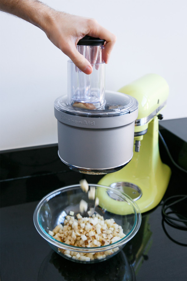 Perfectly Diced Potatoes with the KitchenAid Food Processor Attachment