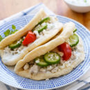Greek Turkey Gyro Tacos